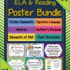 Over 65 posters for ELA and Reading!  (See link below)