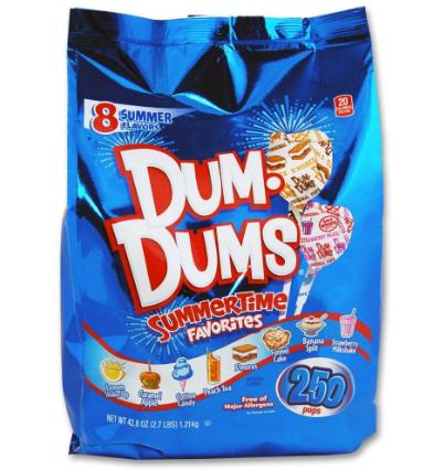 Limited Edition Dum-Dums!